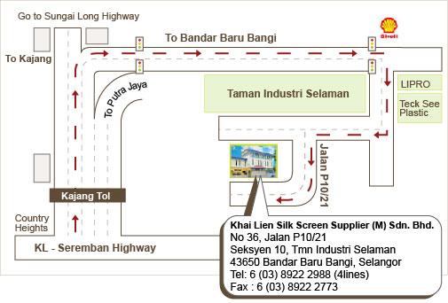 Khai Lien Silk Screen Supplier M Sdn Bhd